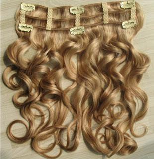 תוספת שיער תלתלים